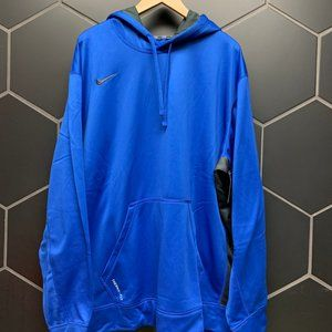 New Nike Therma-Fit Athletic Pullover Blue / Black